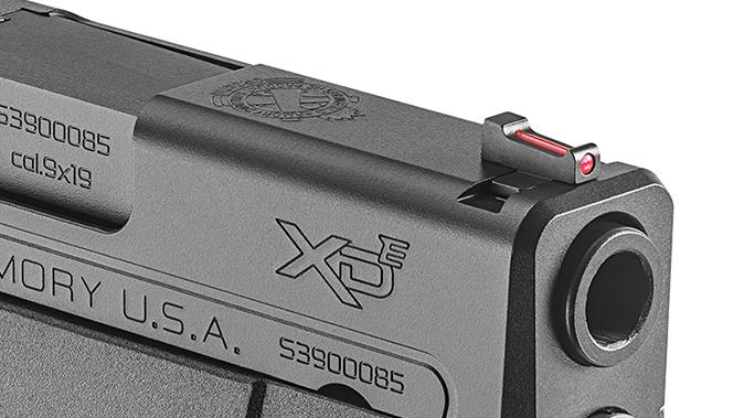Springfield XD-E pistol front sight