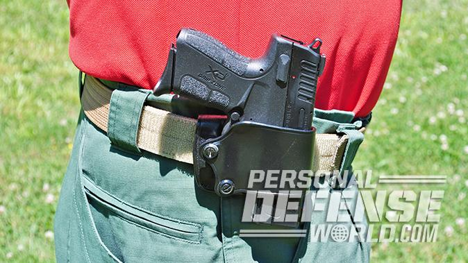 Springfield XD-E pistol holster