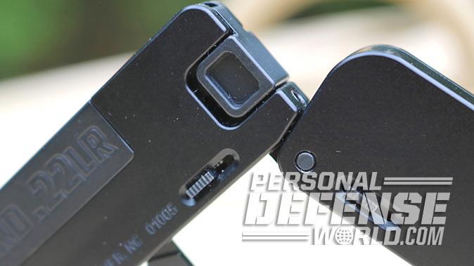 Trailblazer LifeCard pistol folding mechanism