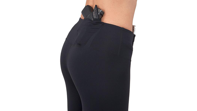 UnderTech UnderCoverOriginal Concealed Carry Leggings discreet concealed carry holsters handguns