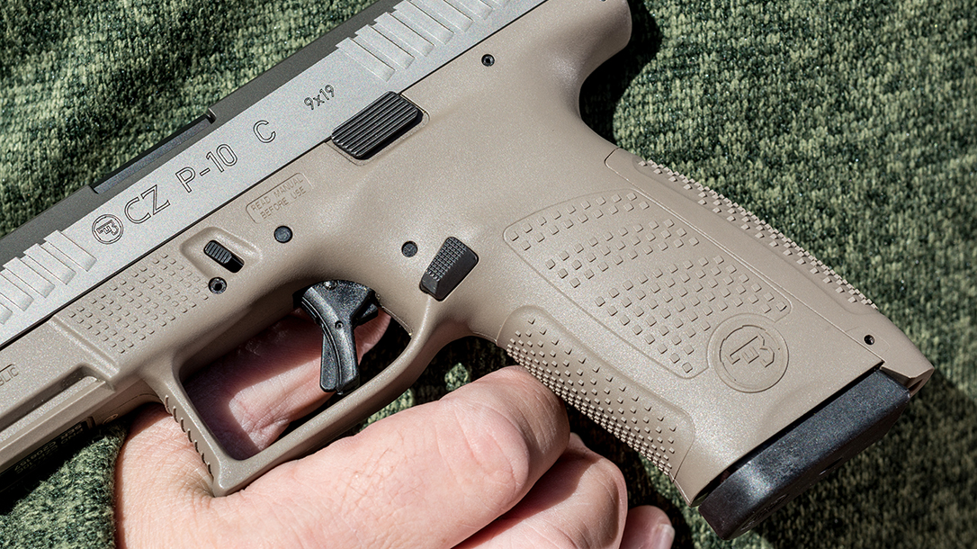 CZ P-10 C Pistol Athlon Outdoors Rendezvous grip