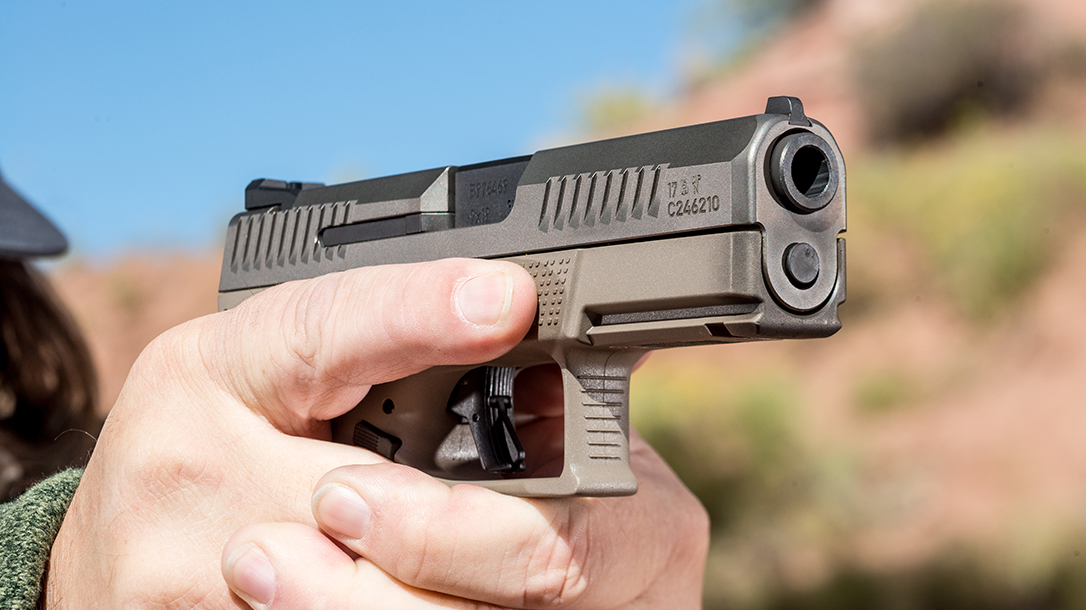 CZ P-10 C Pistol Athlon Outdoors Rendezvous range
