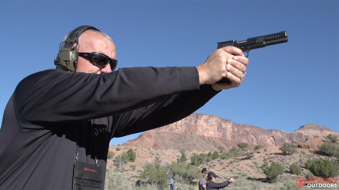 Nighthawk Chairman Pistol range Athlon Outdoors Rendezvous Mastison lead