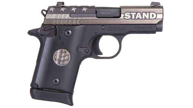 sig sauer P938 STAND pistol right profile
