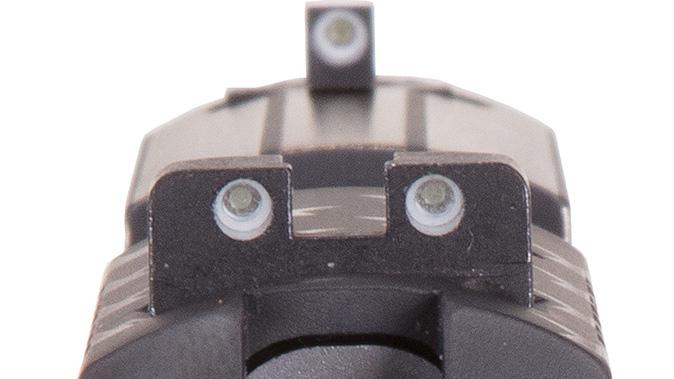 sig sauer P938 STAND pistol sights