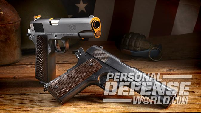 american tactical fx military 1911 colt 1911 pistol side by side