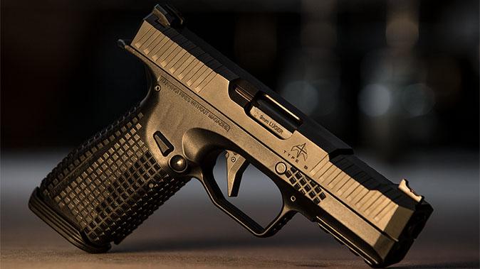 Archon Type B pistol left profile right profile