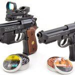 BBs vs Pellets beretta pistols comparison