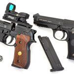 BBs vs Pellets pistols left profile