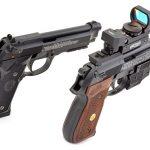 BBs vs Pellets pistols rear angle