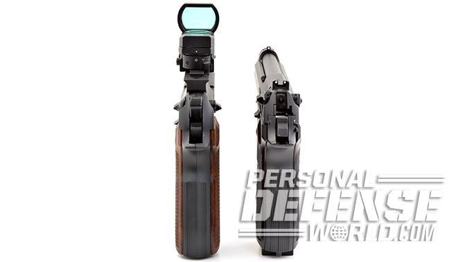BBs vs Pellets pistols rear sights