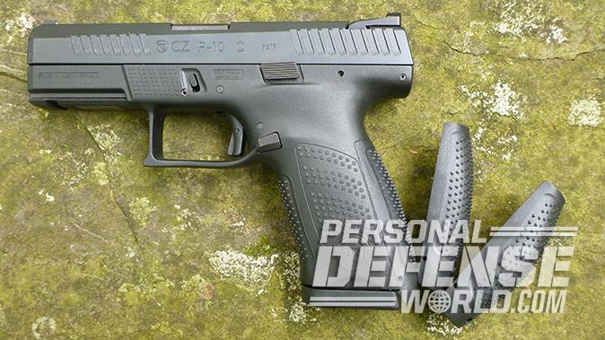 CZ P-10 C pistol backstraps