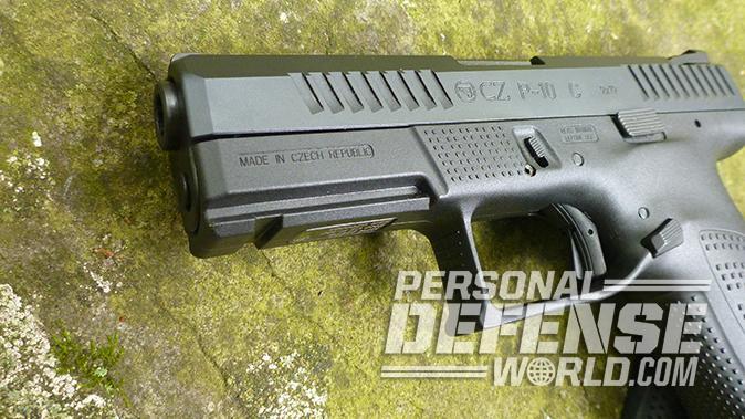 CZ P-10 C pistol frame