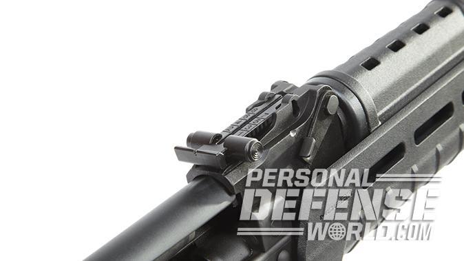 Century Arms RAS47 ak pistol rear sight