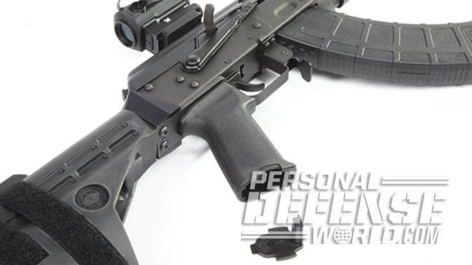 Century Arms RAS47 ak pistol grip storage