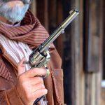 colt peacemaker revolver old west