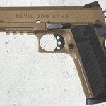 Devil Dog Arms DDA 1911 FDE pistol left profile