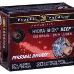federal hydra-shok deep cartridge box