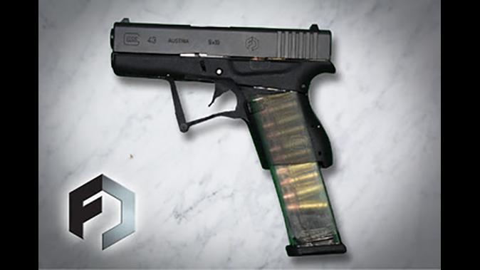 Full Conceal M3G43 pistol unfolded