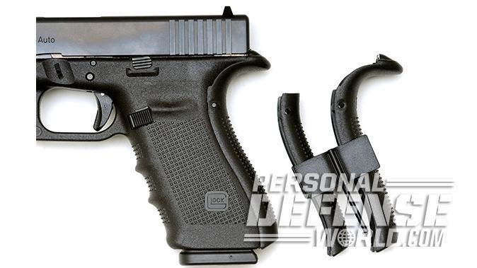 Glock 20 Gen4 10mm pistol backstraps