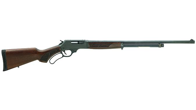taurus judge revolver henry lever action shotgun right profile