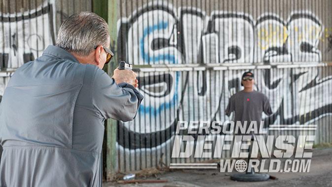 Smith & Wesson M&P9 Shield M2.0 pistol target
