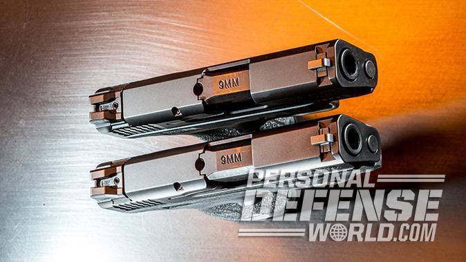 Smith & Wesson M&P9 Shield M2.0 pistol slide