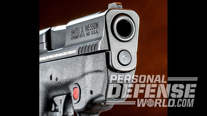 Smith & Wesson M&P9 Shield M2.0 pistol laser