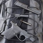 Smith & Wesson M&P9 Shield M2.0 pistol backpack