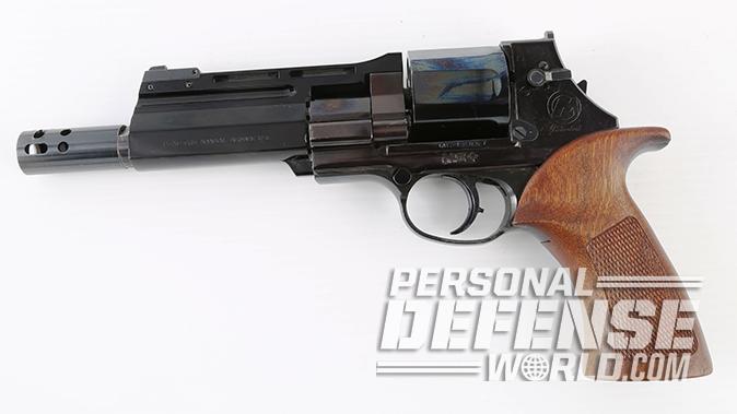 semi-auto revolver mateba left profile