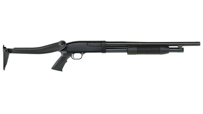 Maverick 88 6-Shot Top-Folding Stock shotgun