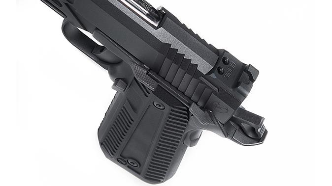 Nighthawk agent 2 pistol slide serrations