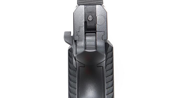 Nighthawk agent 2 pistol rear sight