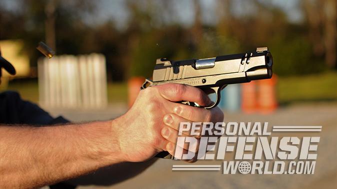 nighthawk tri-cut carry pistol firing