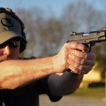 nighthawk tri-cut carry pistol action shot