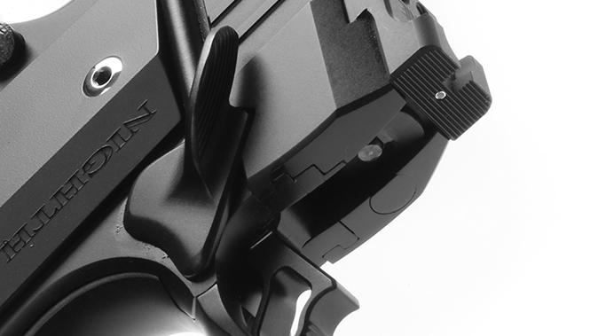 nighthawk tri-cut carry pistol hammer and sight