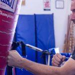 powerful punch punching bag