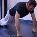 powerful punch knuckle push-ups