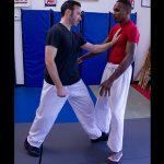 powerful punch footwork