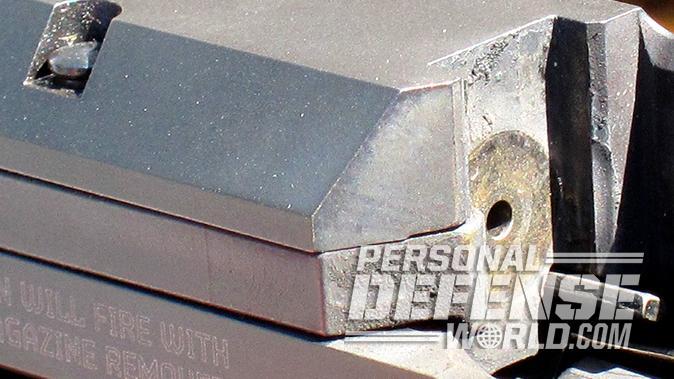 Ruger American Pistol breech face extractor