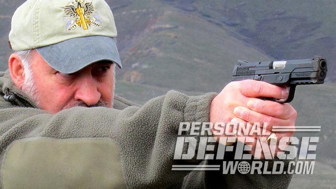 Ruger American Pistol test