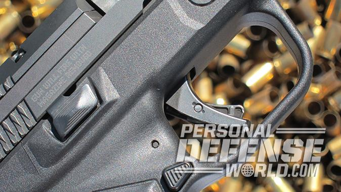 Ruger American Pistol controls right side