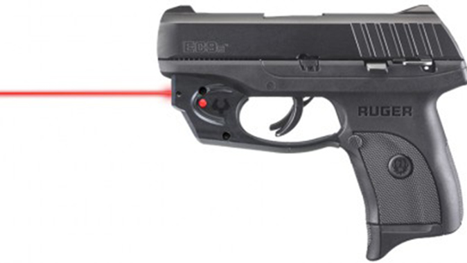 Ruger EC9s pistol laser sight