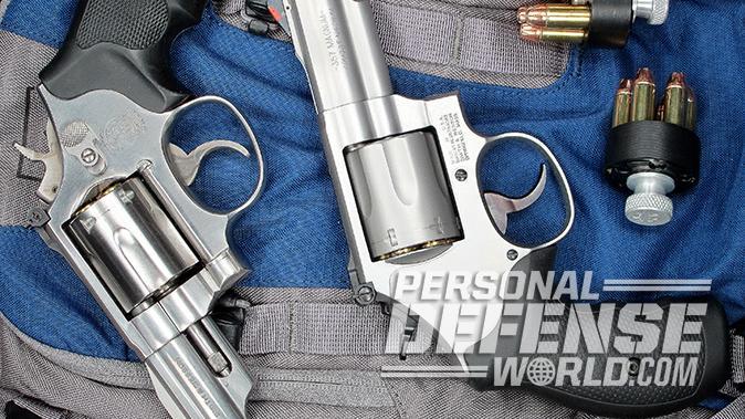 smith wesson Model 66 Combat Magnum revolver comparison