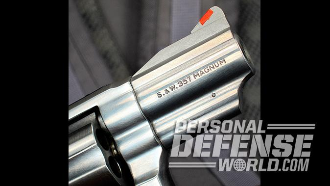 smith wesson Model 66 Combat Magnum revolver front sight blade