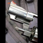 smith wesson Model 66 Combat Magnum revolver front locking plunger old model
