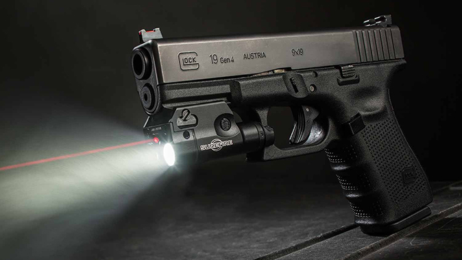SureFire XC2-A on glock