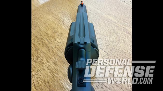 taurus judge revolver sights