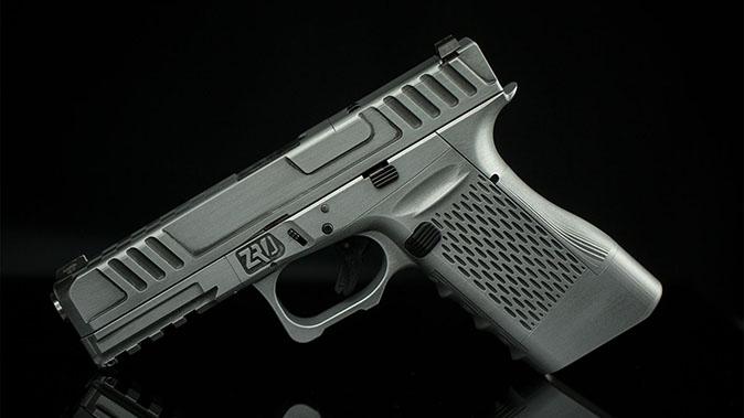 ZRODelta Genesis Z9 pistol left profile