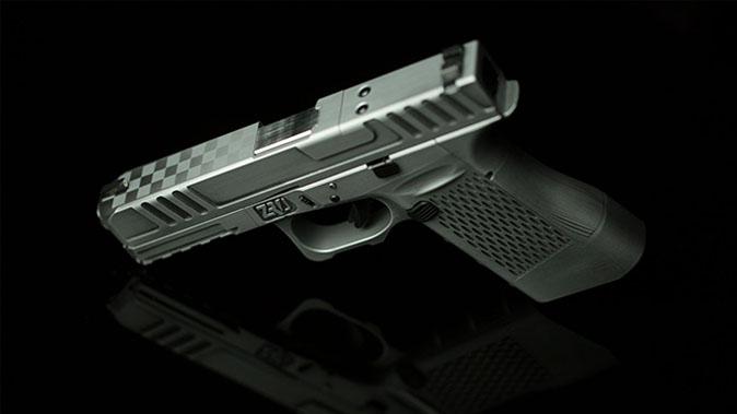 ZRODelta Genesis Z9 pistol slide